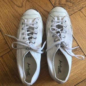 Converse jack Purcell low top sneaker, size 8